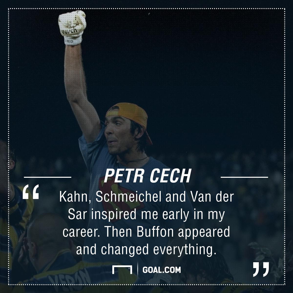 Gianluigi Buffon Petr Cech PS