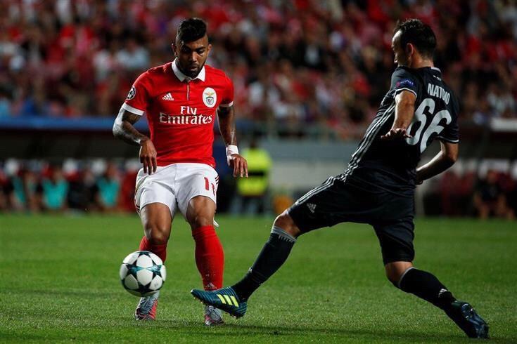 Gabigol - Benfica (Foto: Reprodução da internet)