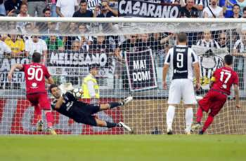 Cagliari awarded penalty against Juventus in Italy's first VAR decision