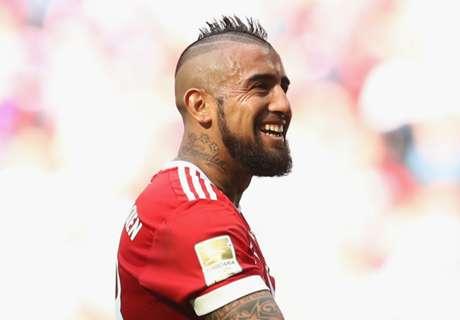 Vidal, orgulloso en Bayern Munich