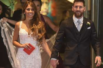 Messi's special wine gift for wedding guests revealed by Argentina team-mate Zabaleta