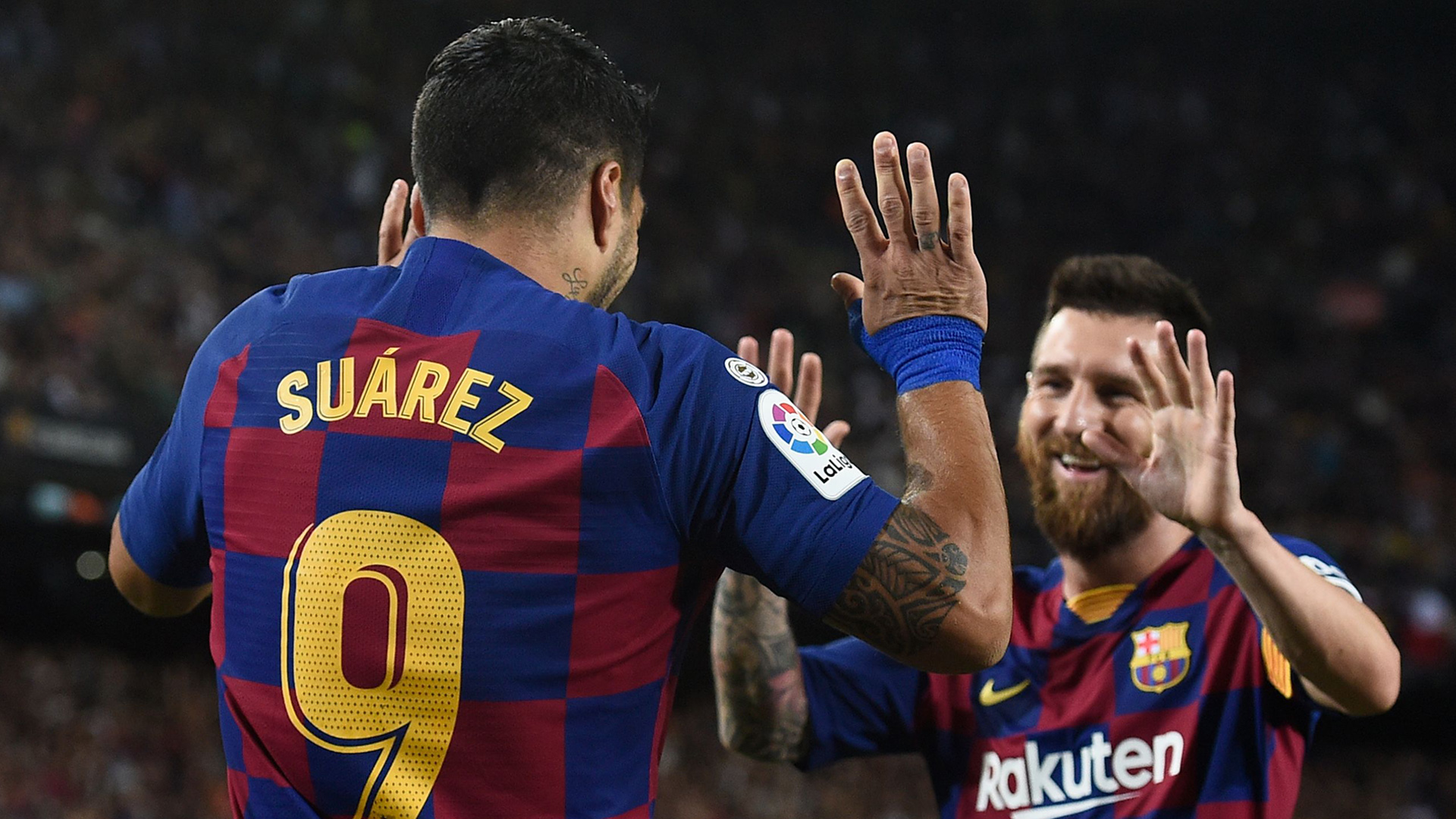 'Everybody knows Messi is the best' - Suarez says Barca team-mate proves supremacy 'every day'