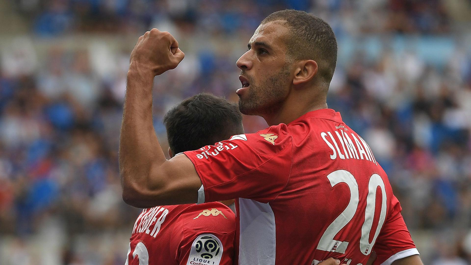 Islam Slimani: Monaco striker out of Reims clash