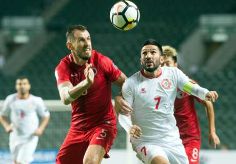 亞洲盃:陳俊樂領紅兼輸12碼 香港0:1不敵黎巴嫩