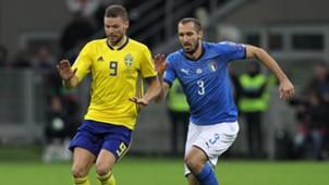 Giorgio Chiellini Marcus Berg Italy Sweden