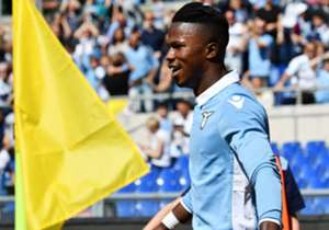 Senegal and Lazio attacker Keita Balde capped off a historic performance Sunday by scoring the fastest hattrick in Serie A's history