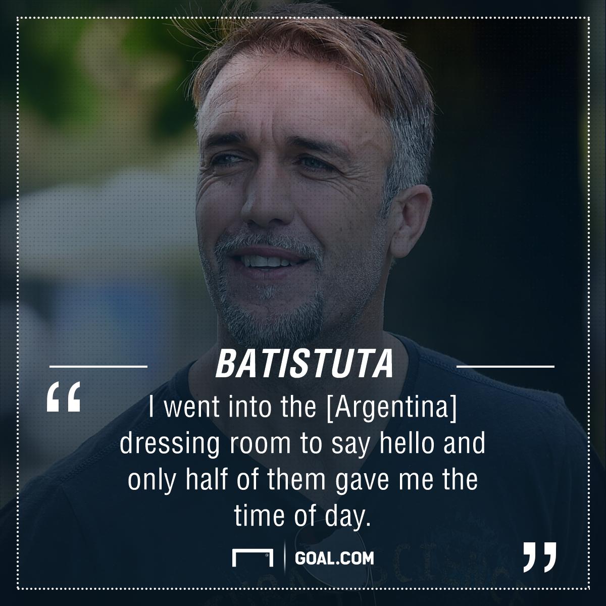 Gabriel Batistuta Argentina PS