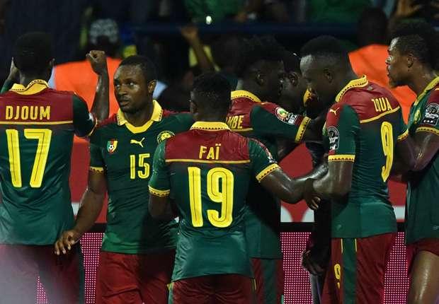 أمم إفريقيا 2017 الكاميرون الي النهائي بعد الفوز بثنائية على غانا