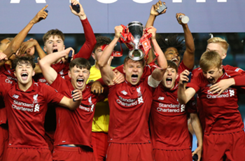 Gerrard's cousin Duncan on target as Liverpool beat Man City to win FA Youth Cup
