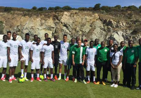 Eagles commence training in Corsica