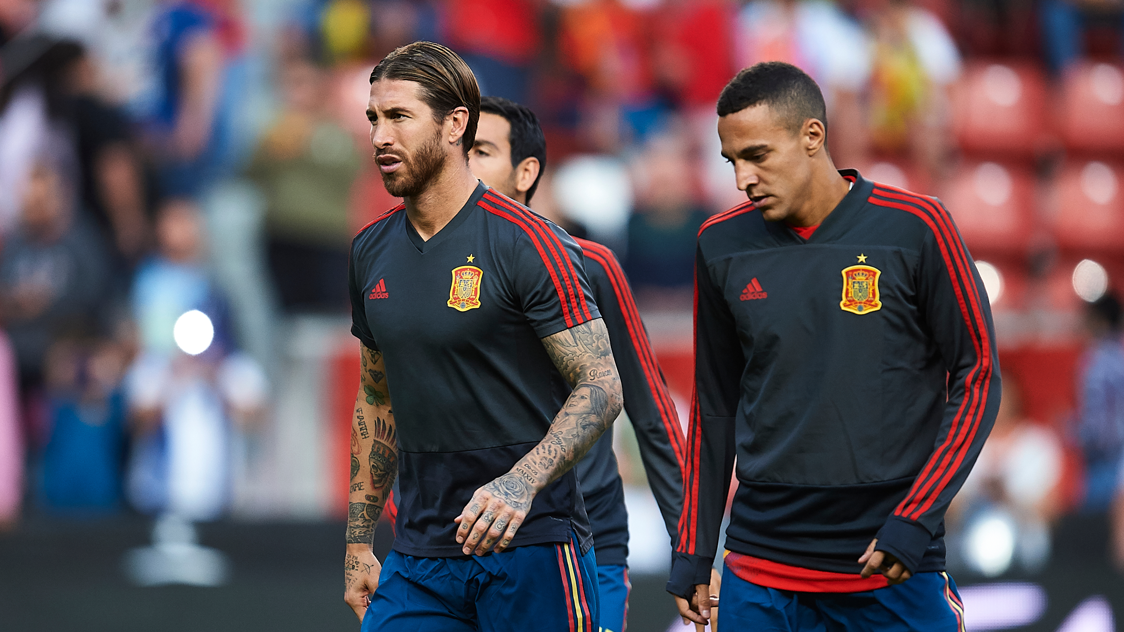 Ramos targets 200 games for Spain after equalling Casillas' record