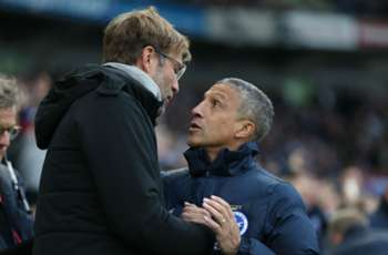 Klopp reveals Salah hug behind Hughton spat after Liverpool's thrashing of Brighton