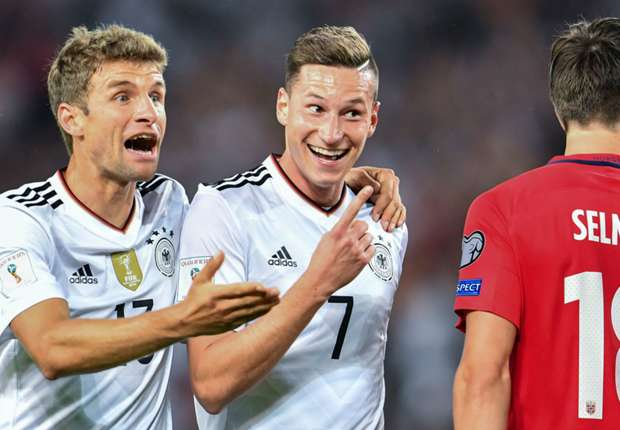 Thomas Muller Julian Draxler Germany Norway 04092017