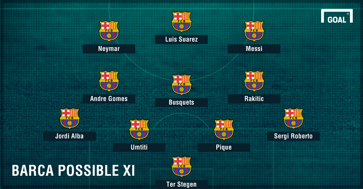 Barca possible Eibar