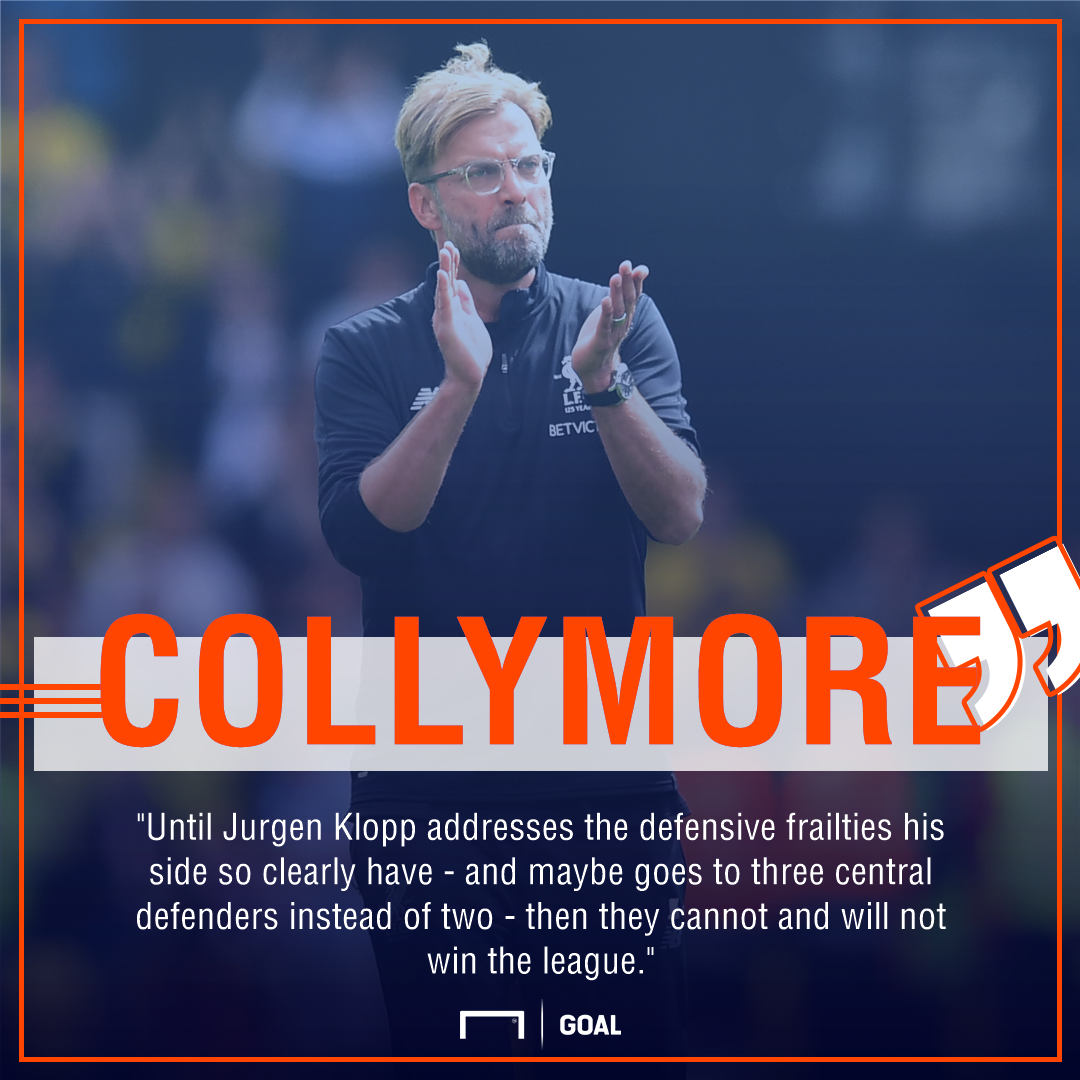 Stan Collymore Liverpool Klopp defence