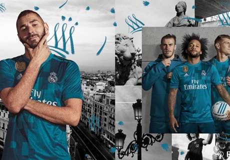 Real Madrid release new third kit