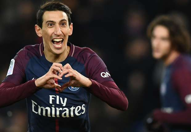 Angel Di Maria PSG Montpellier Ligue 1 27012018