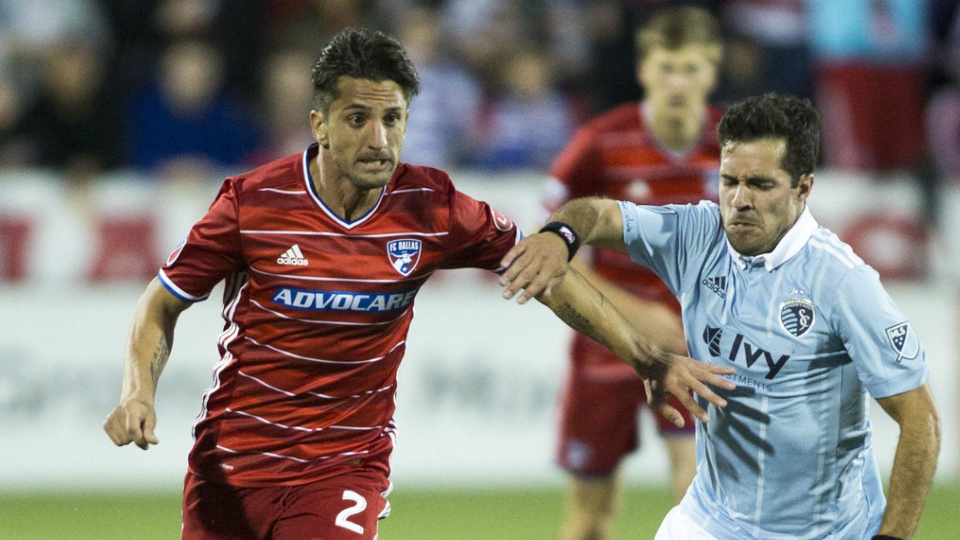 Hernan Grana Benny Feilhaber MLS FC Dallas Sporting KC 04222017