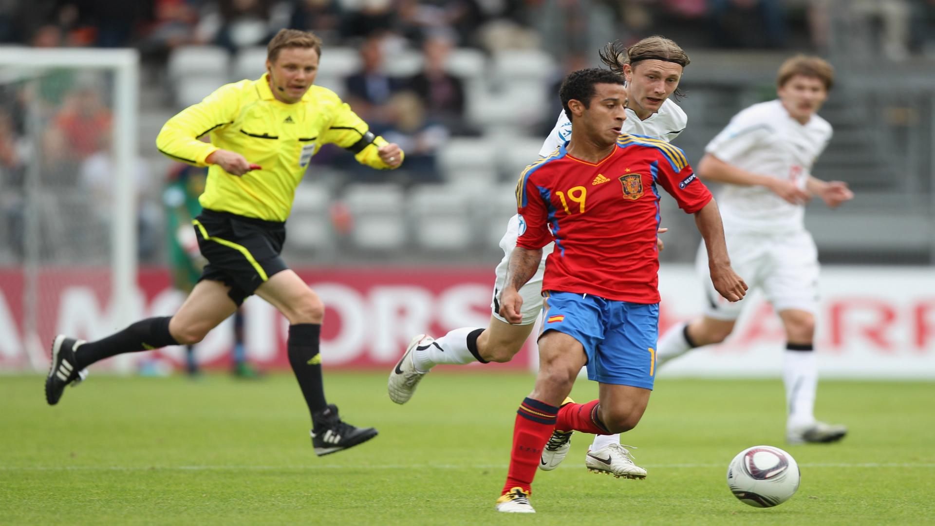 Thiago Alcantara European Under-21 Championships