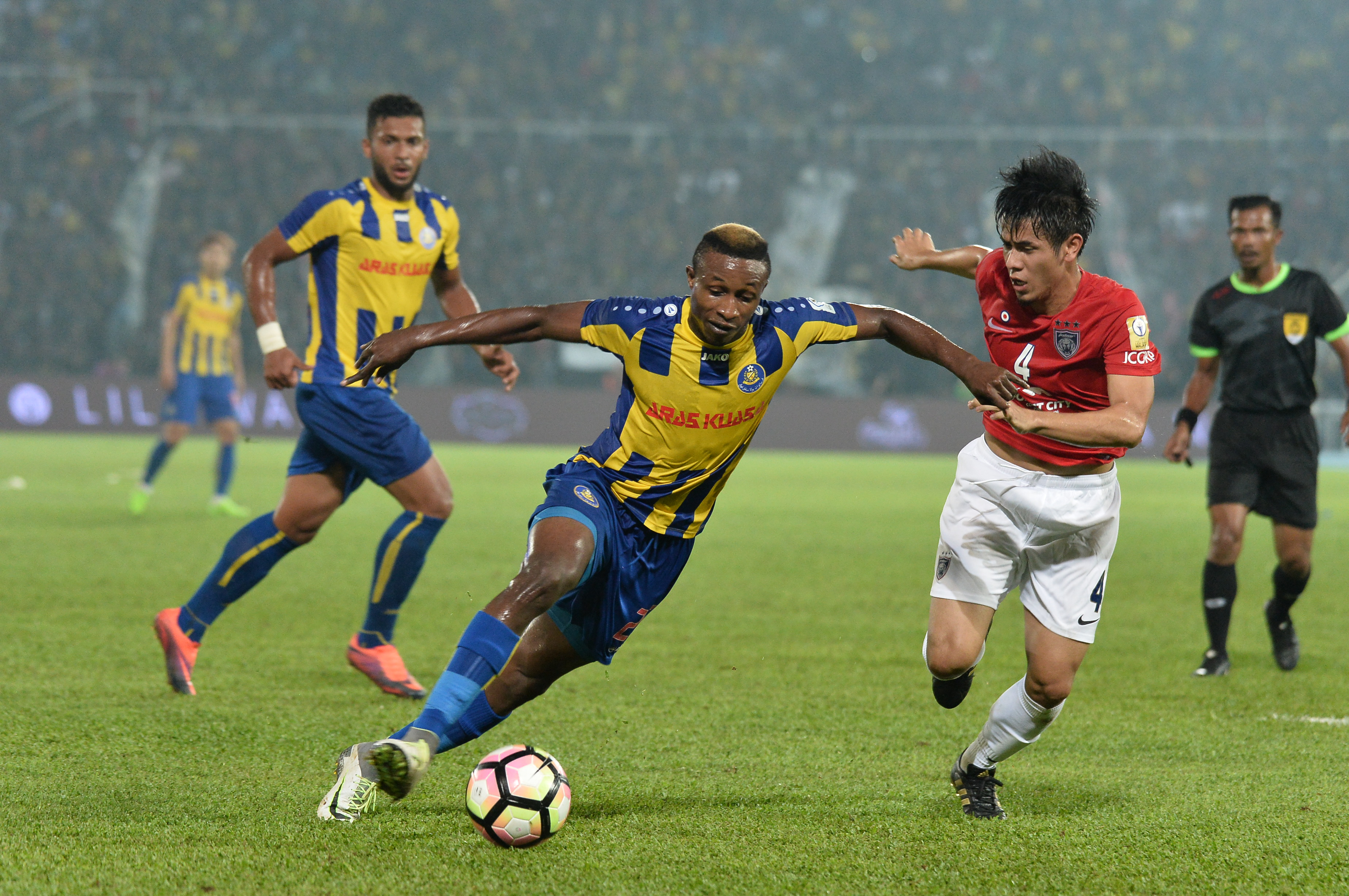 Mohamadou Sumareh Pahang Afiq Fazail Johor Darul Ta'zim Malaysia FA Cup 01042017