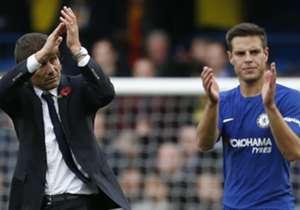 <strong> Chelsea 4-2 Watford (2017) </strong> | <br>El Chelsea se está abonando al sufrimiento en este curso. Esta tarde ha tocado otra vez dar la vuelta al electrónico. Esta vez fueron tres goles en 20 minutos con los que voltear el 1-2 que campeaba.