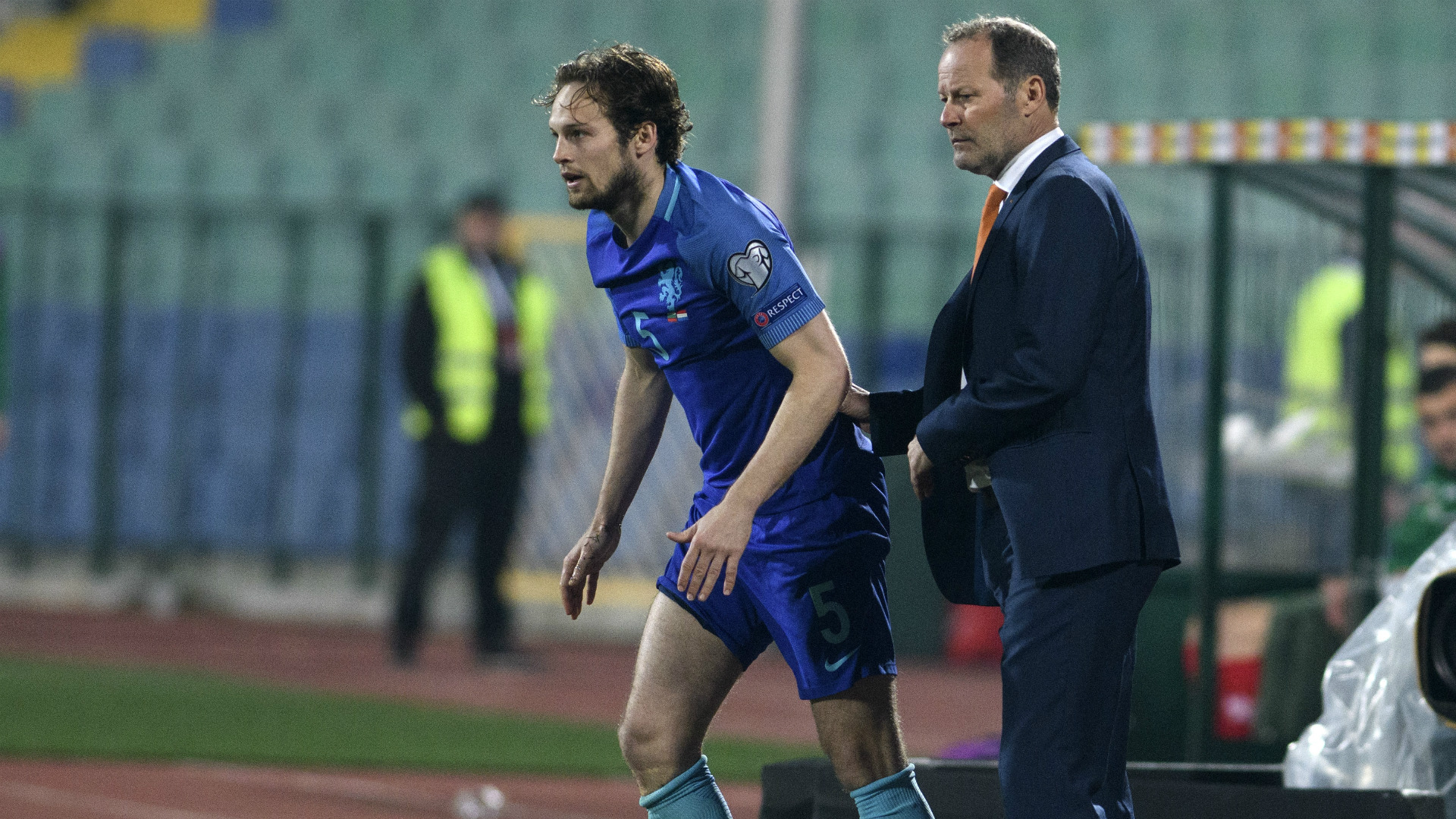 Danny Blind sacked as Netherlands head coach