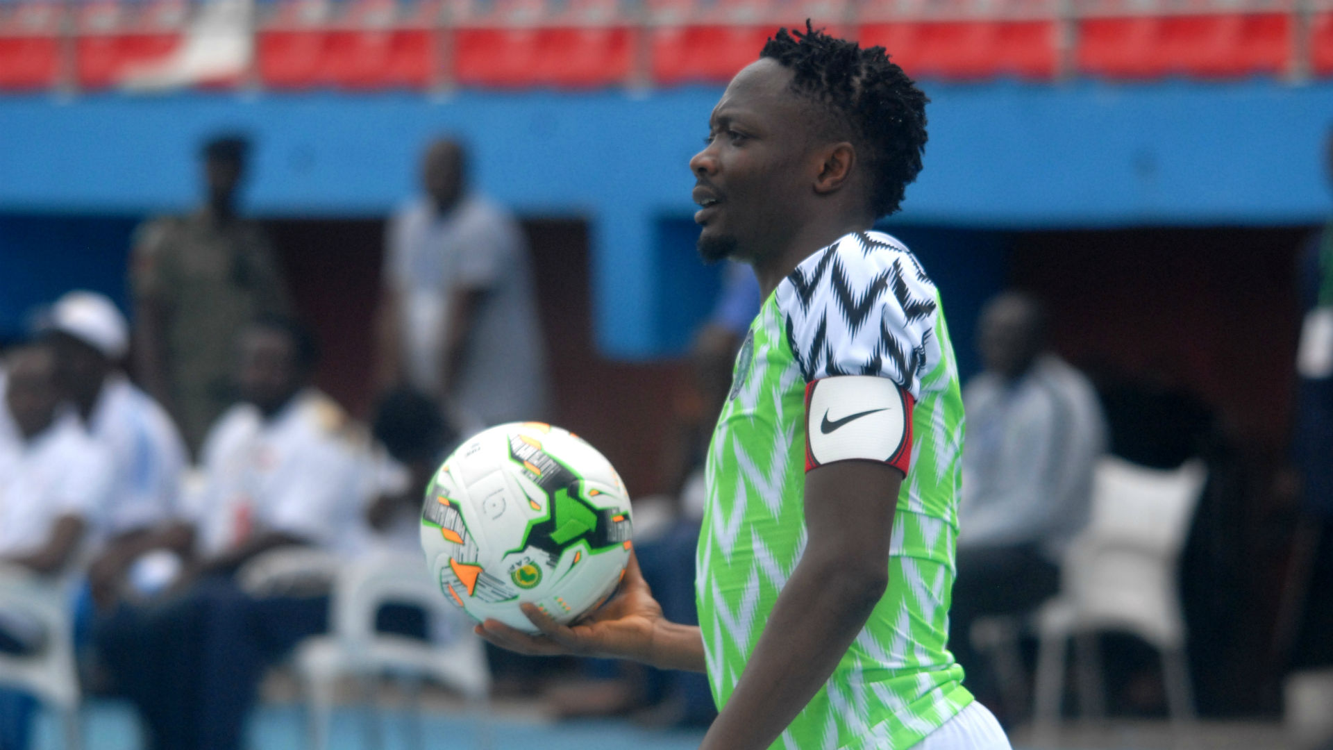 Ahmed Musa out of Nigeria's clash against Ukraine