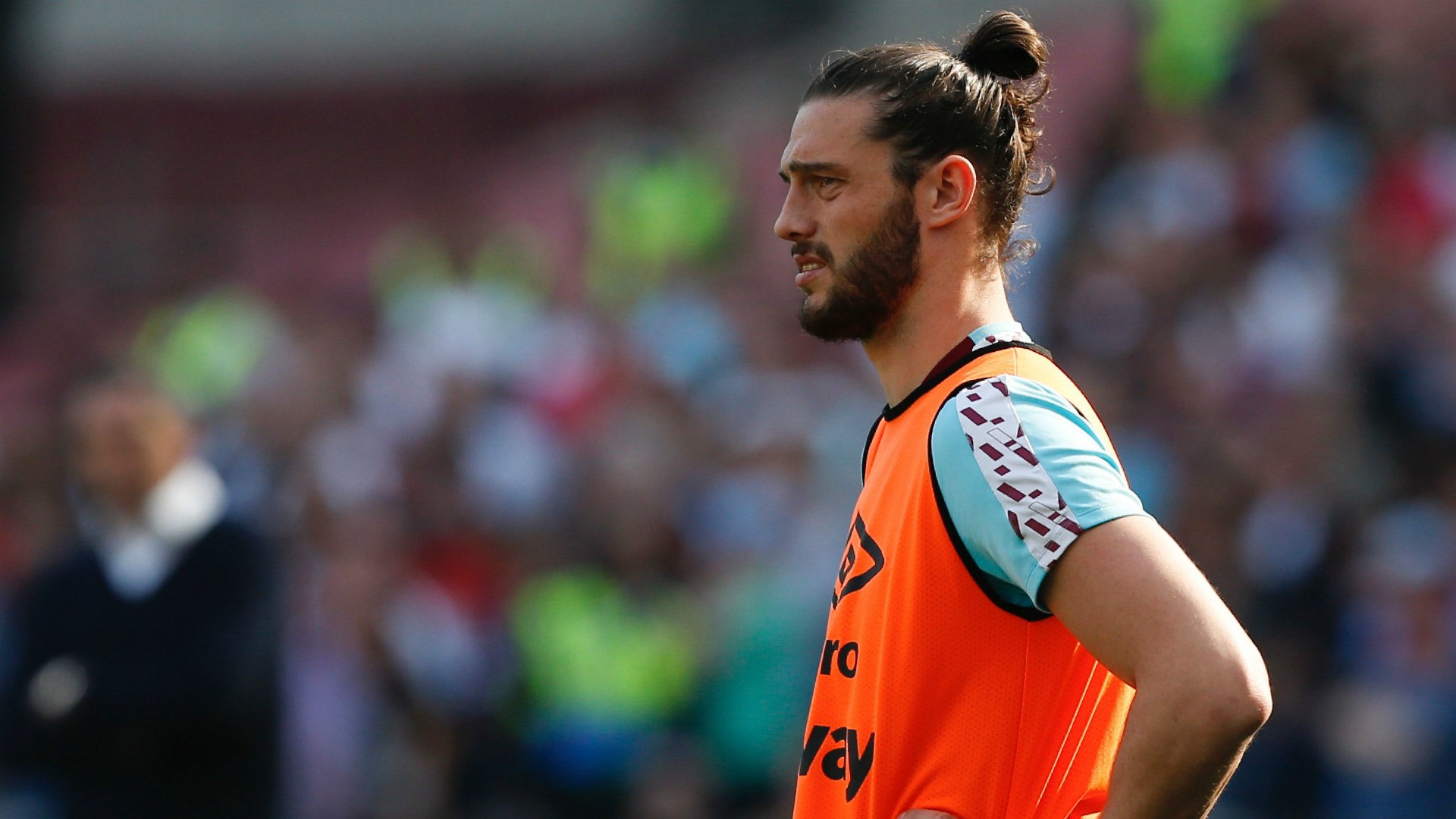 Andy Carroll West Ham Premier League