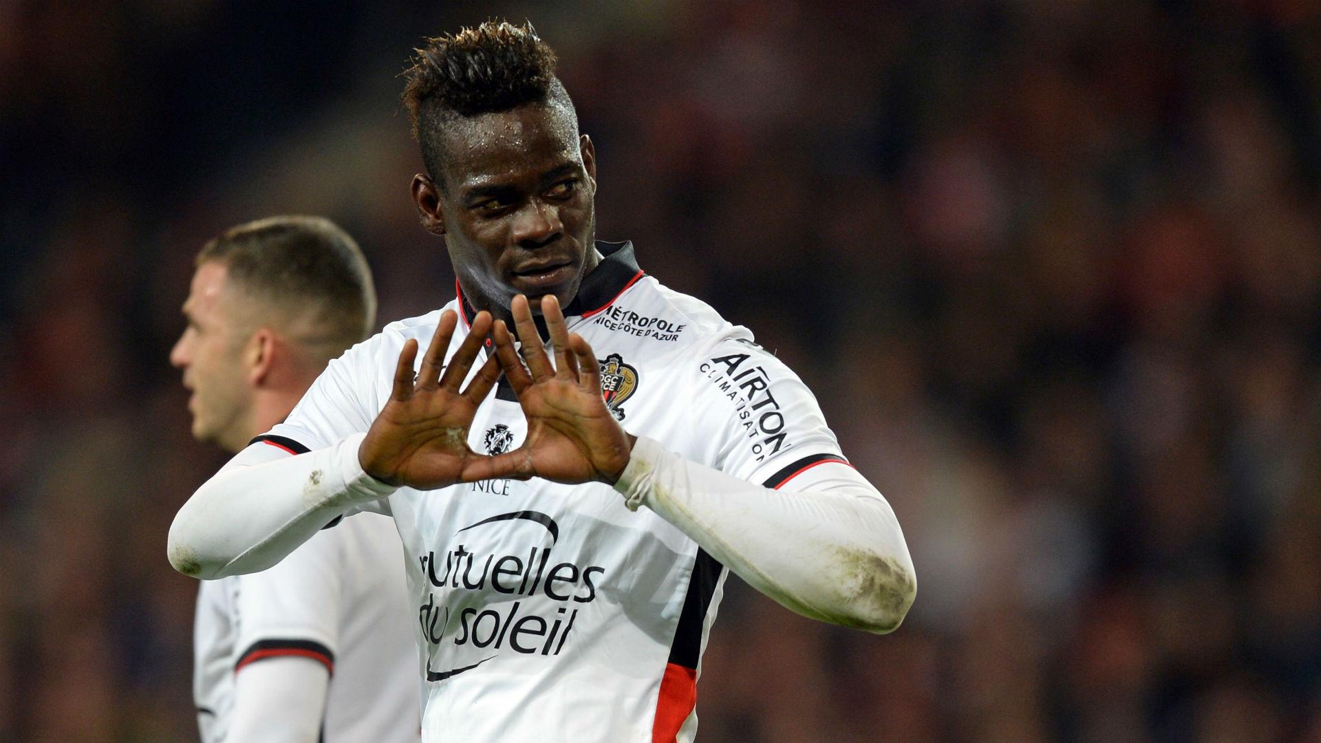 Mario Balotelli Lille Nice Ligue 1
