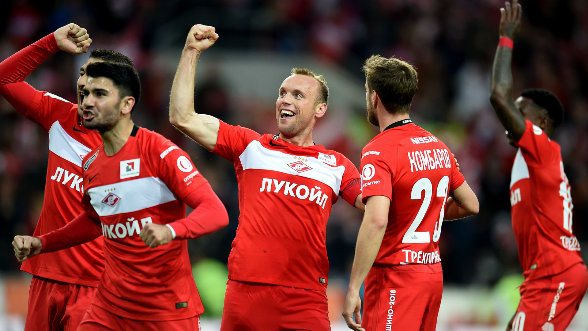 CSKA scored a goal for Spartak in added time 33