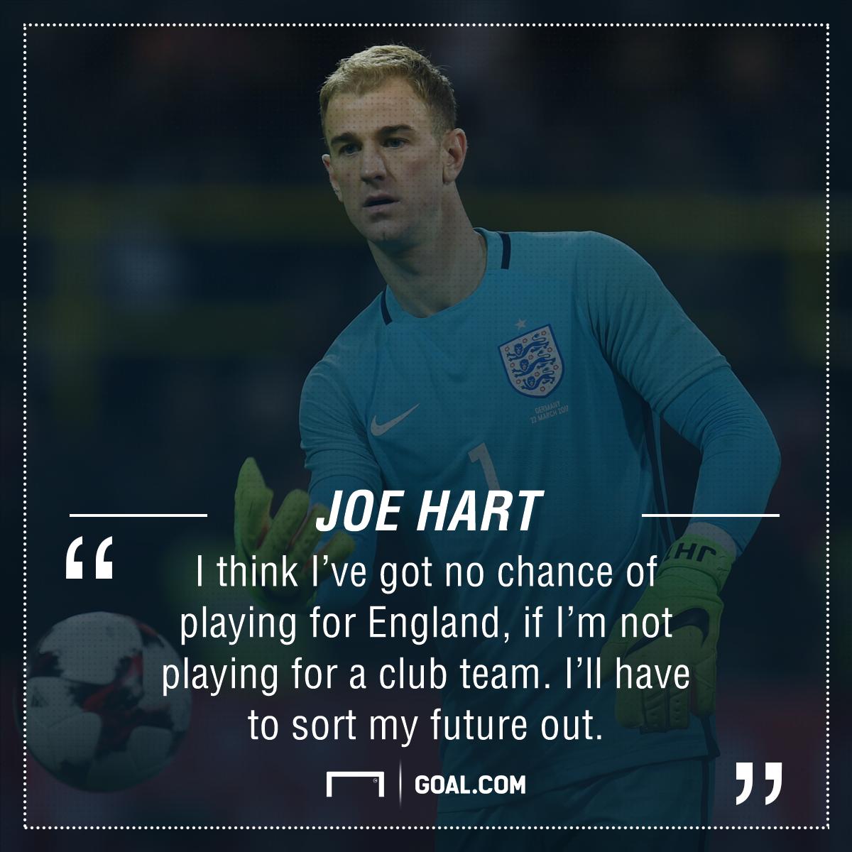 Joe Hart future
