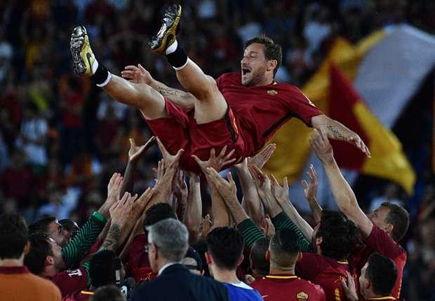 Francesco Totti je u svibnju odigrao posljednju utakmicu za Romu