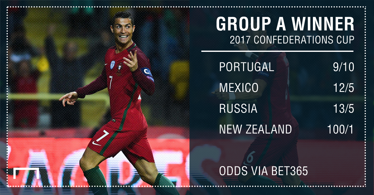 GFX Confederations Cup Group A winner betting