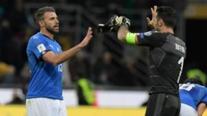 Barzagli Buffon Italy