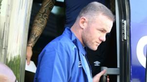 Wayne Rooney arrive