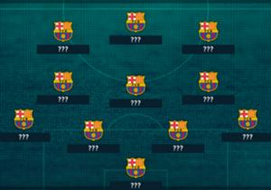 Barcelona tarihinin en pahalı transferlerinden oluşan 11'le karşınızdayız...