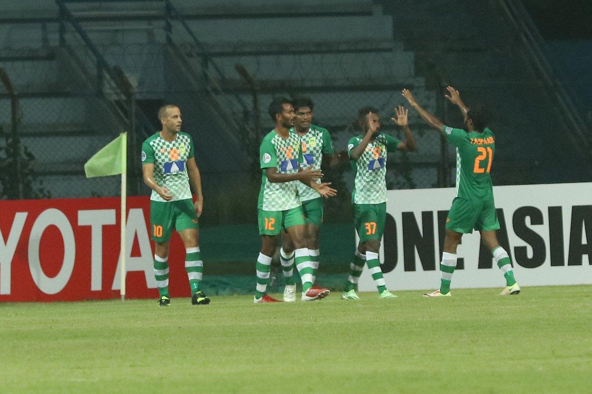 Maziya celebrate win over Mohun Bagan