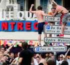 GALERÍA   Incidentes con los 'hooligans' ingleses en Marsella