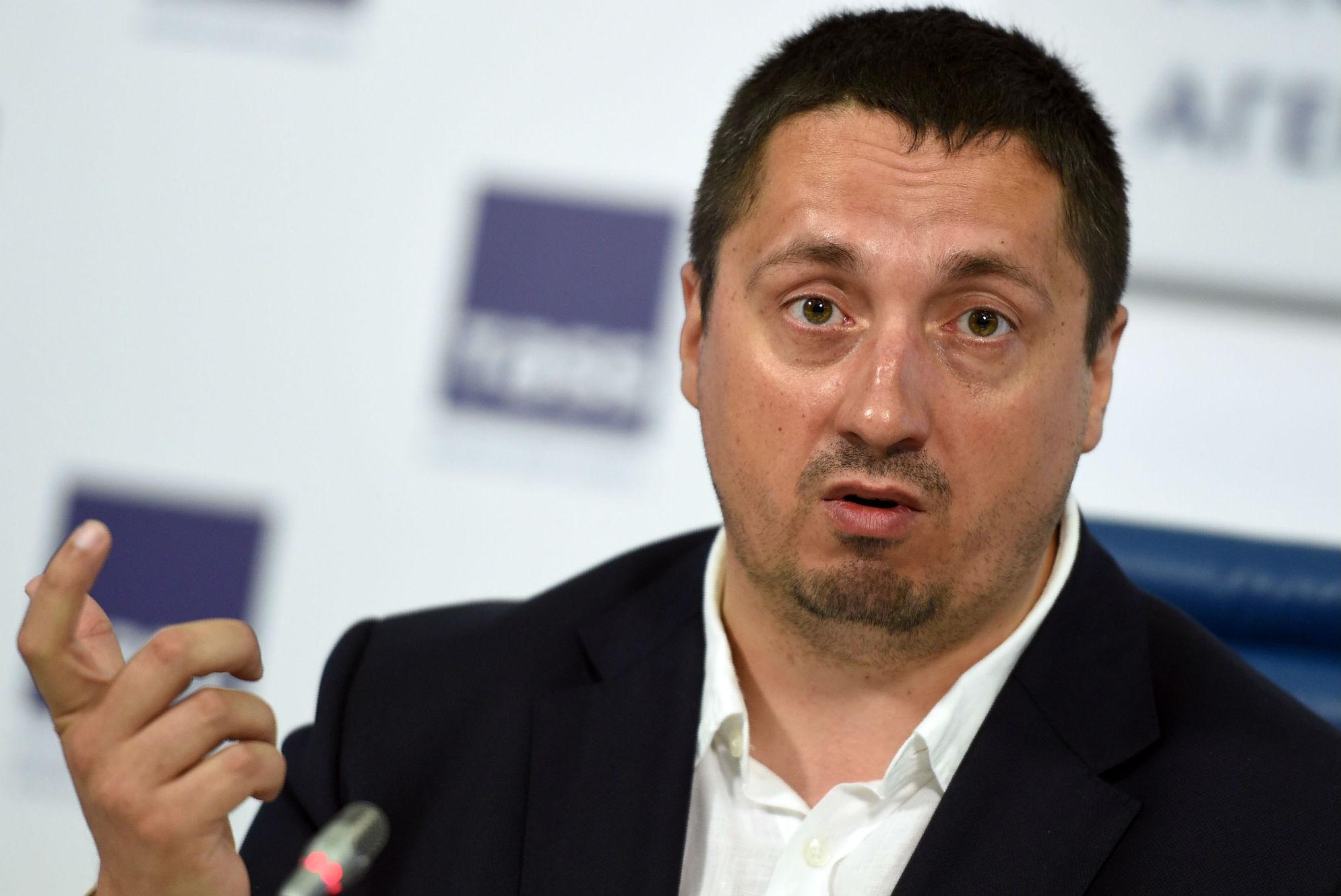 Alexander Shprygin Russian fan group leader