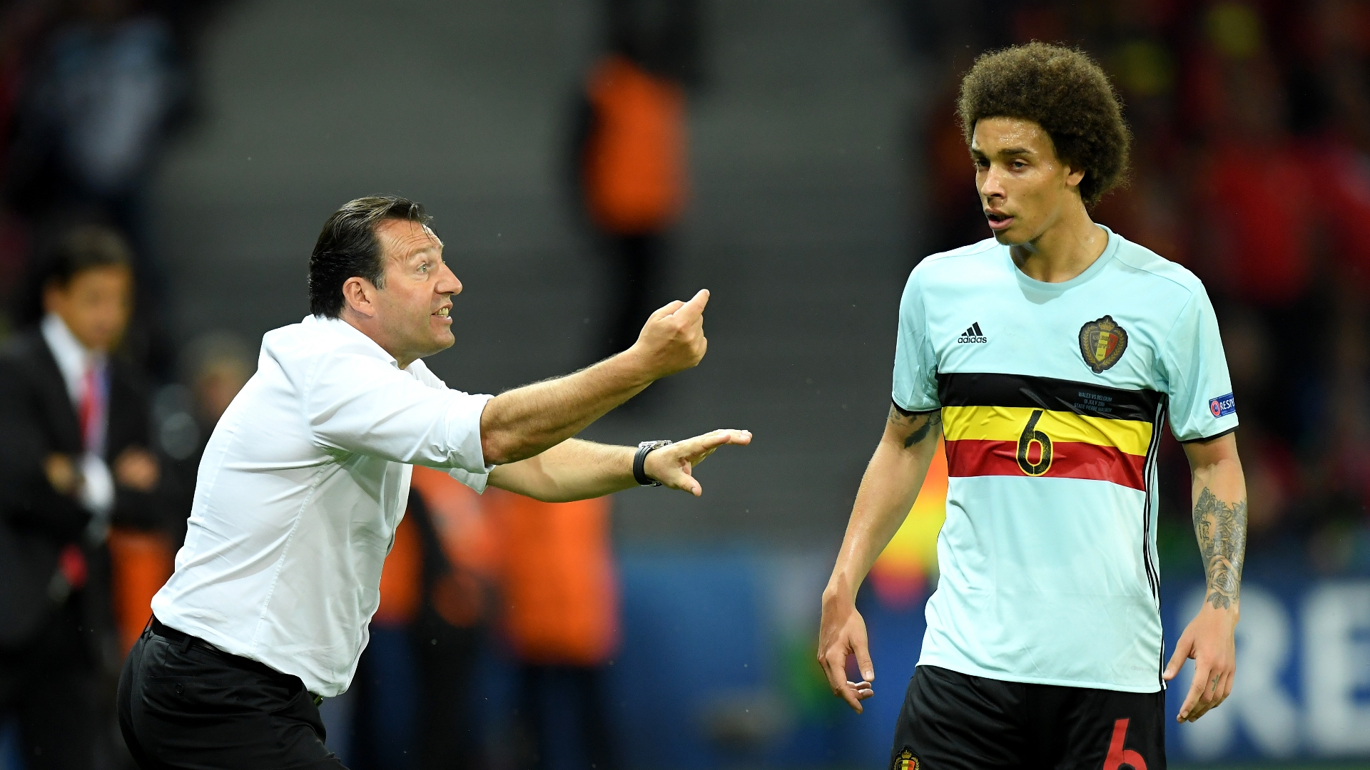 Marc Wilmots, Axel Witsel