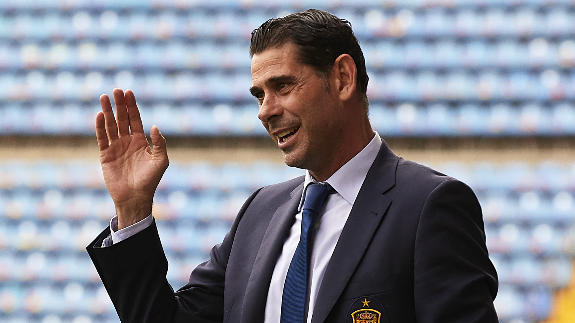Hierro to replace sacked Lopetegui as Spain manager for World Cup