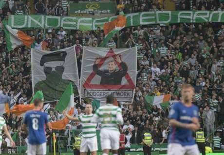 Celtic fined €23,000 for banner