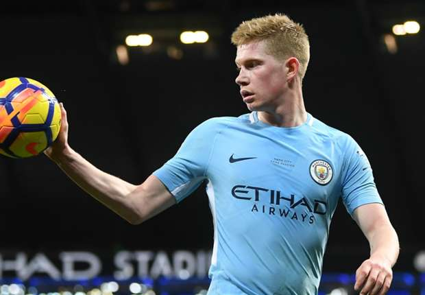 Manchester City, De Bruyne joueur du mois de janvier