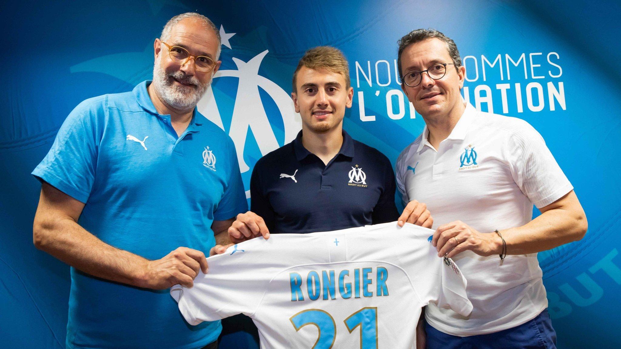 Officiel - Mercato : l'OM annonce la signature de Valentin Rongier