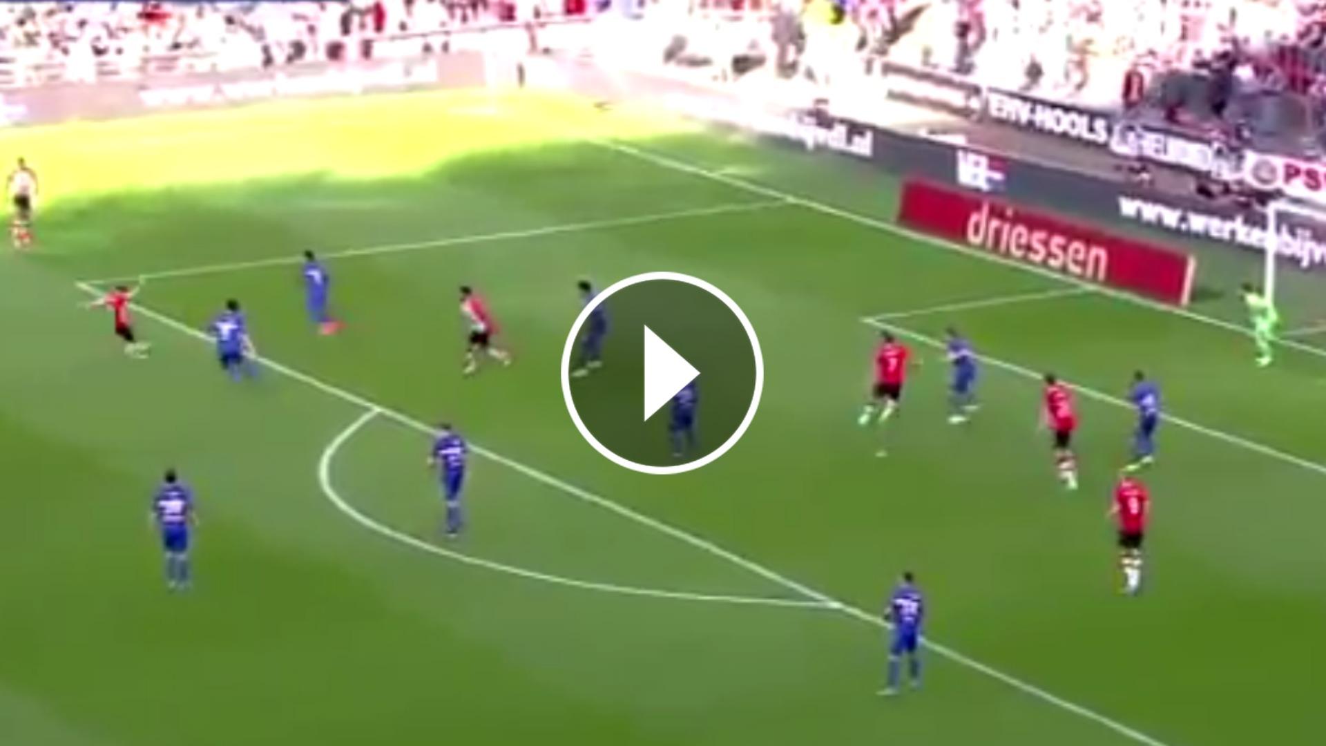 VIDEO Guardado fue figura en triunfo del PSV ¡Tremendo