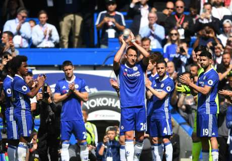 Chelsea festejó y despidió a Terry