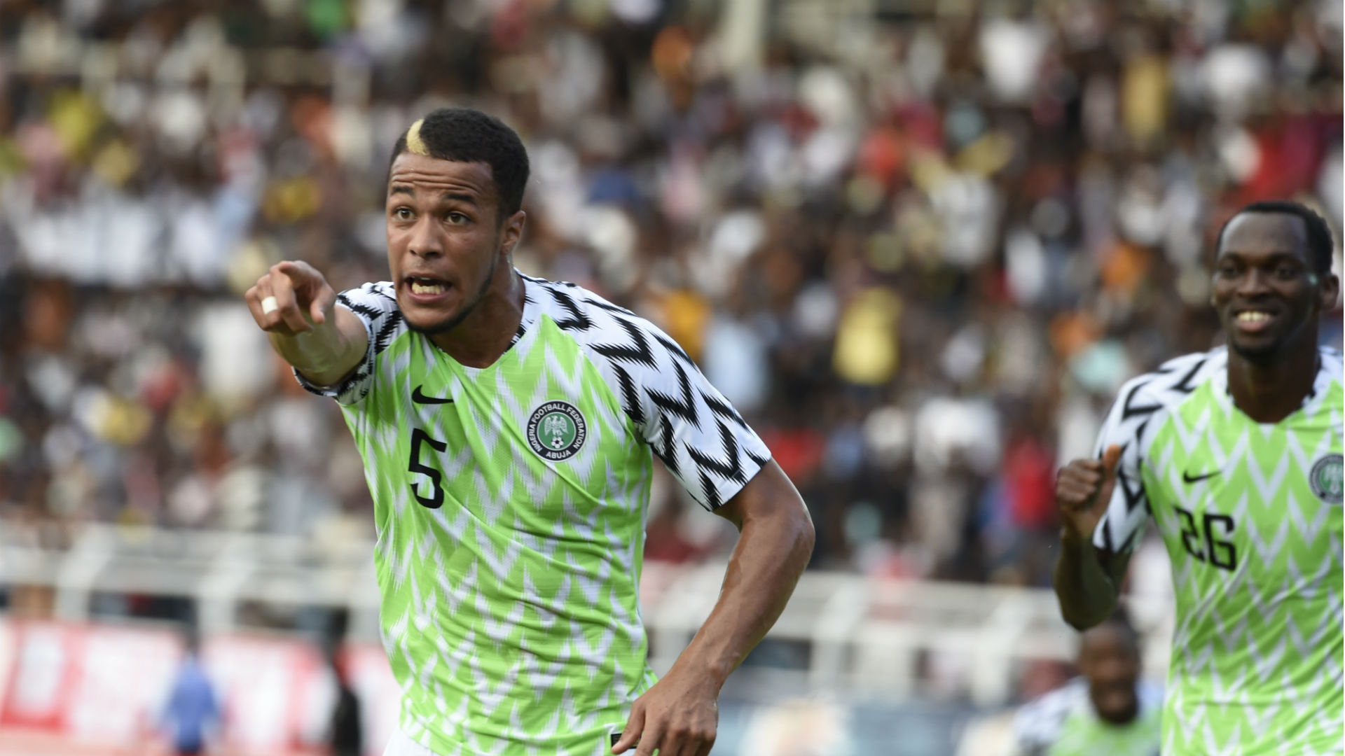 Sunday Oliseh's criticism helped me improve, reveals Troost-Ekong