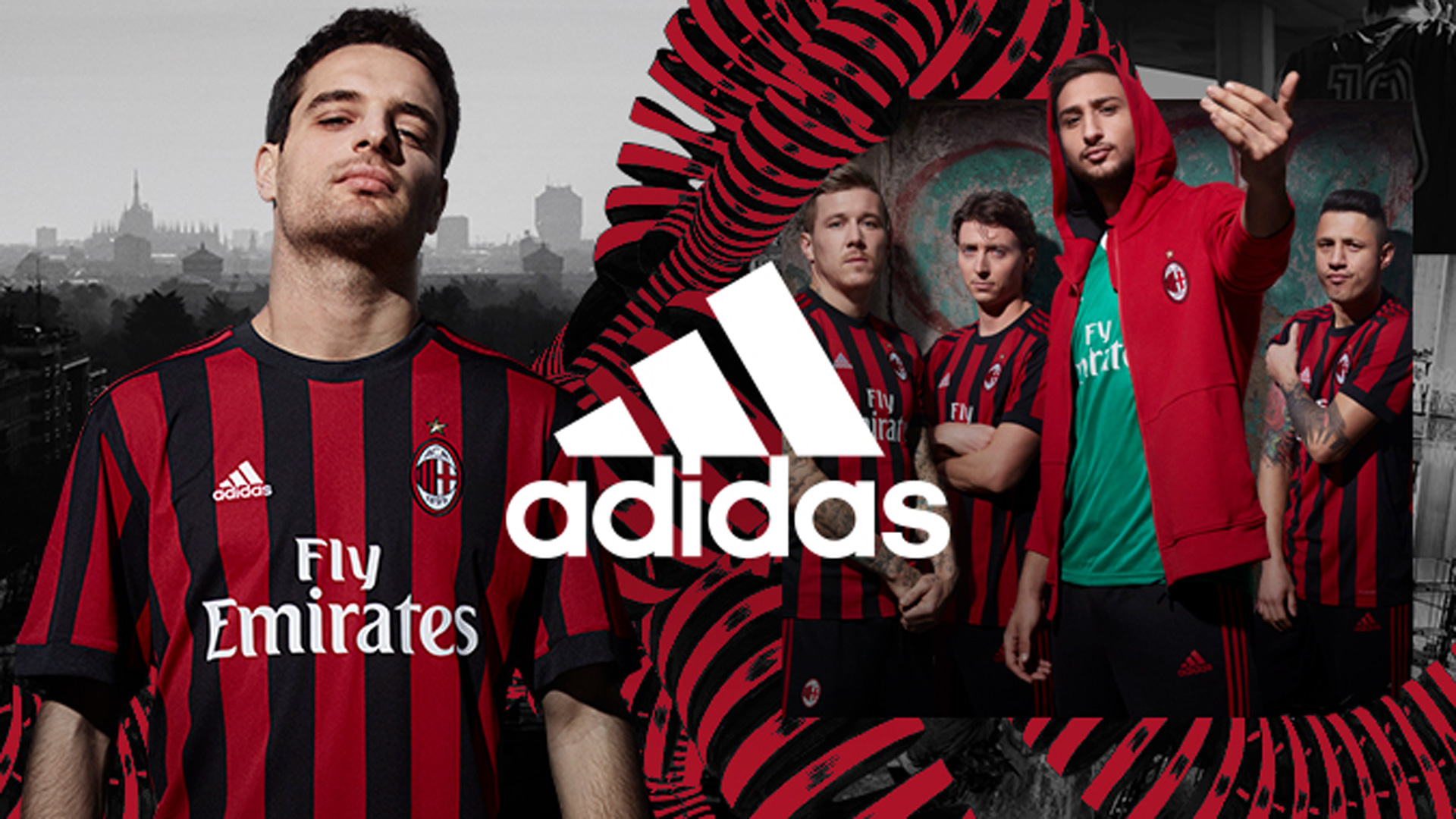 AC Milan Home Kit 2017/2018