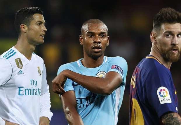 Fernandinho za Goal: City bi mogao kupiti i Ronalda i Messija