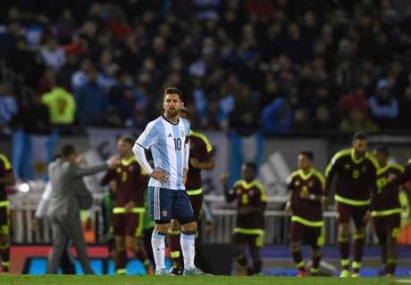 Argentina Gagal Kalahkan Venezuela